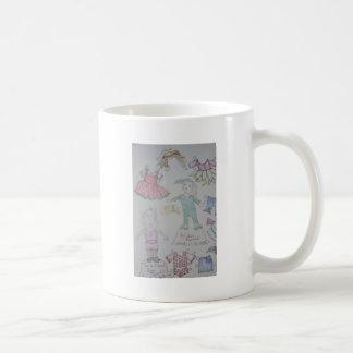 BunBun and Olga Paperdolls Coffee Mugs