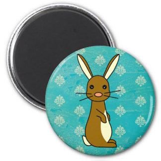 Bunbun - Cute Rabbit 2 Inch Round Magnet