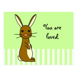Bunbun - Cute Rabbit Postcard