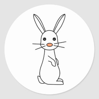 Bunbun - Cute White Rabbit Stickers