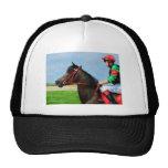 Bunbury Red - Racehorse Art Hat