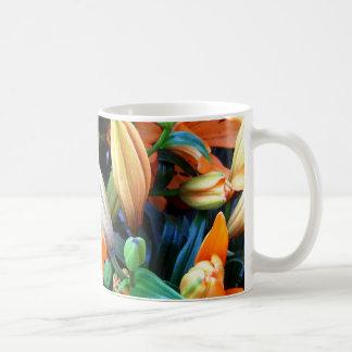 bunch flowers coffee mug