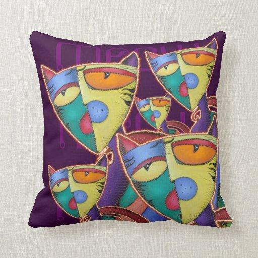 Bunch 'O' Cats American MoJo Pillow