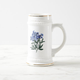 Bunch of Blue Blossoms Mugs