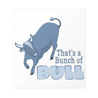 Bunch of Bull Note Pad