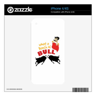 Bunch Of Bull Skins For The iPhone 4S