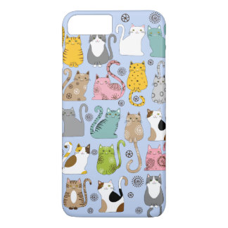 Bunch of Cute and Fun Cats iPhone 7 Plus Case