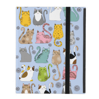 Bunch of Cute and Fun Cats Powis iPad 2,3,4 Case