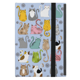 Bunch of Cute and Fun Cats Powis iPad Mini Case
