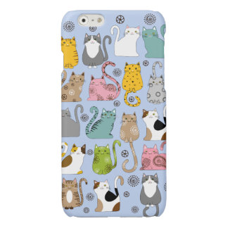 Bunch of Cute and Fun Cats Savvy iPhone 6 Case