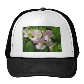 Bunch of Delicate White Blossoms Blowing The Wind Trucker Hat