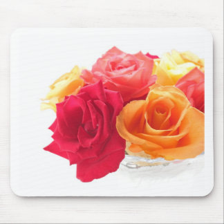bunch of different roses mousepads