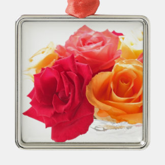 bunch of different roses ornament