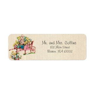 Bunch of Flowers Address Labels
