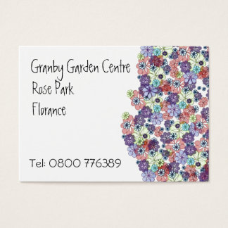 Bunch of Flowers Business Card