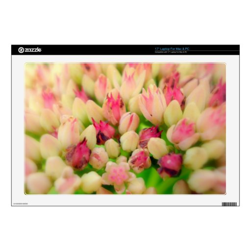 """Bunch of Flowers Decal For 17"""" Laptop"""