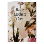 Bunch of Flowers Happy Mothers Day Card
