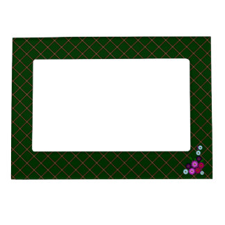Bunch of flowers magnetic picture frame