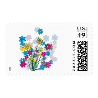 Bunch of Flowers Postage
