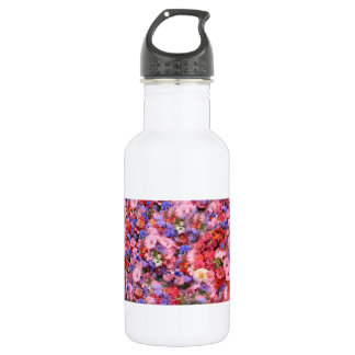 Bunch Of Flowers Stainless Steel Water Bottle