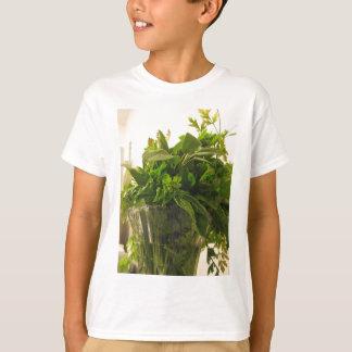 Bunch of fresh herbs from garden T-Shirt