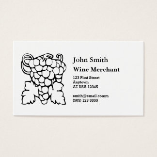 Bunch of Grapes Business Card