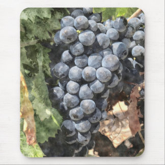 Bunch of Grapes Mouse Pad
