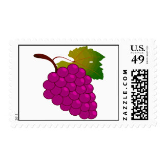 Bunch of grapes stamps
