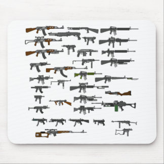 Bunch Of Guns Mouse Pad