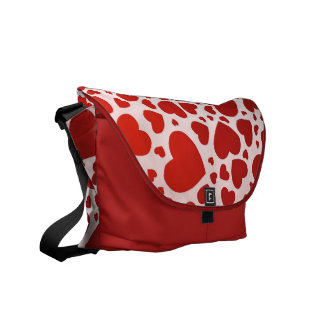 Bunch of Hearts Courier Bag