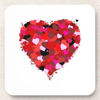 Bunch of Hearts Drink Coaster