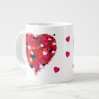 Bunch of Hearts Giant Coffee Mug