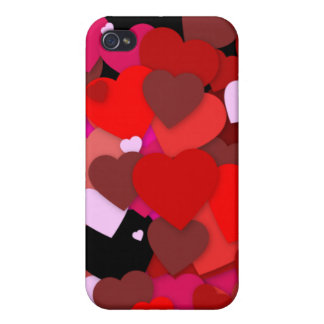 Bunch of Hearts iPhone 4/4S Case