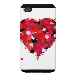 Bunch of Hearts iPhone 4 Case