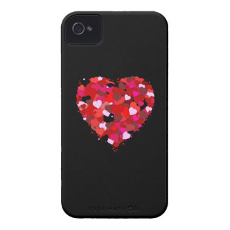 Bunch of Hearts iPhone 4 Case-Mate Case
