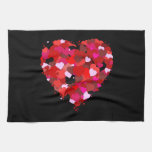 Bunch Of Hearts Kitchen Towel