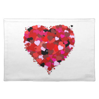 Bunch Of Hearts Placemat