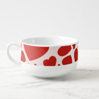 Bunch of Hearts Soup Mug