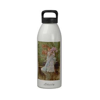 Bunch of Lilacs c1875 Water Bottles