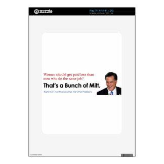 Bunch of Mitt - Fair Pay iPad Decals