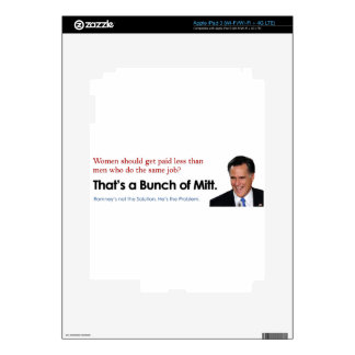 Bunch of Mitt - Fair Pay Skins For iPad 3