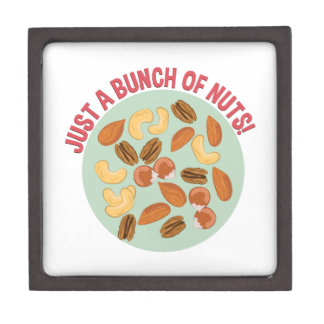 Bunch Of Nuts Jewelry Box