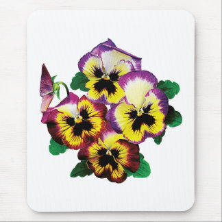 Bunch of Pansies Mouse Pad