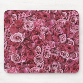 Bunch of Pink Roses Mousepad