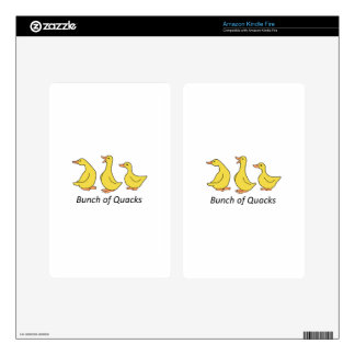 BUNCH OF QUACKS KINDLE FIRE DECAL