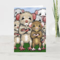 Bunch of Rats Greeting Card