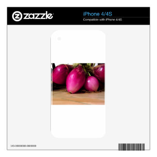 Bunch of red onion iPhone 4S decal