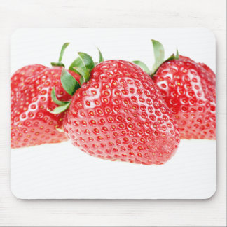 Bunch of Red Strawberries Mouse Pad