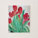 Bunch of Red Tulips Puzzles