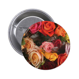 Bunch Of Roses 2 Inch Round Button